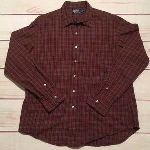 Polo Ralph Lauren Flannel Shirt Size XL